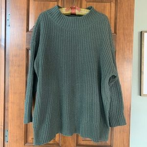 Aerie AE oversized chenille sweater